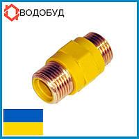 EcoFlex муфта диэлектрическая для газовой трубы 1/2 НН