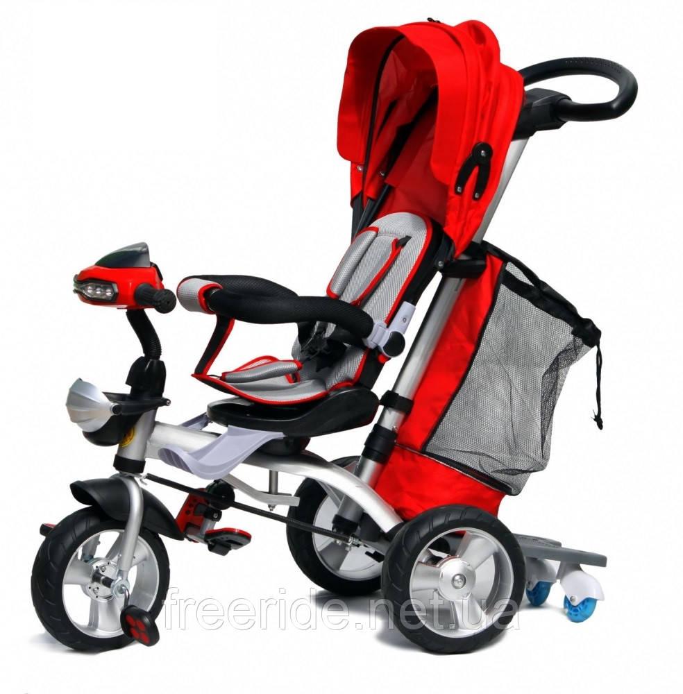 Детский трехколесный велосипед Baby trike CT-95 красный