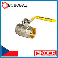 Кран шаровый Koer усиленный газ 1\2 ГГР