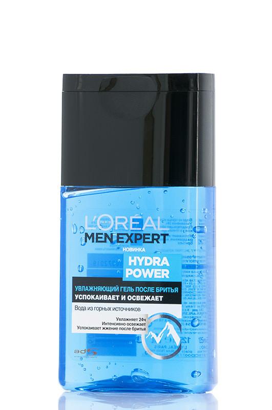Loreal Men Expert  Гель После бритья  Увлажняющий  Hydra Power для мужчин 125 мл Код товара 19673