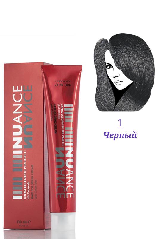 Nuance Крем-краска для волос 1 черный