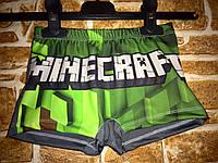 Плавки шорты для мальчиков Майнкрафт Minecraft