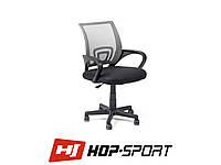 Кресло стул офисное вращающееся Hop-Sport Польша Серый