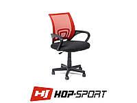 Кресло стул офисное вращающееся Hop-Sport Польша Оранжевый