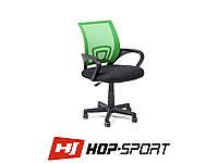 Кресло стул офисное вращающееся Hop-Sport Польша Зеленый