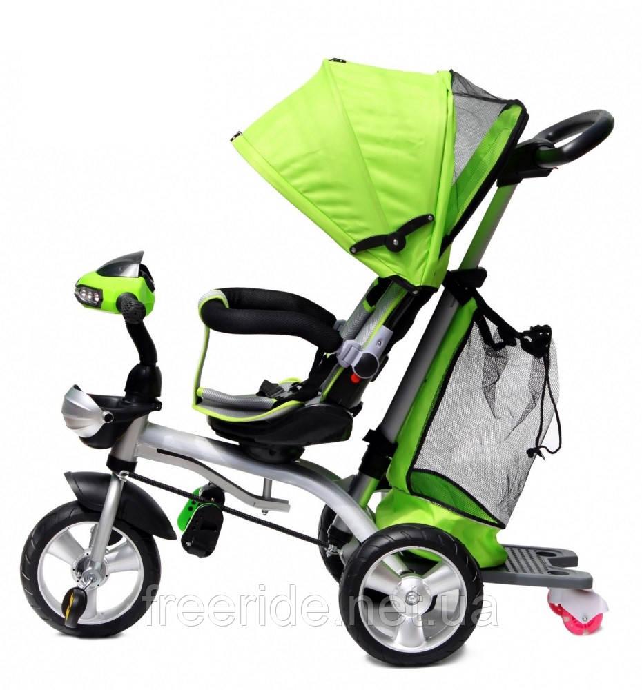 Детский трехколесный велосипед Baby trike CT-95 салатовый