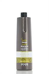 Echos Line Therapy Shampoo Шампунь Очищающий против перхоти 1000 мл Код 18972