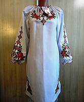 """Платье с вышивкой """"Роза"""""""