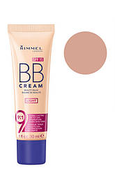Rimmel  Тон основа  BB Cream Beauty Balm SPF15  01 Light 30 мл Код 17332