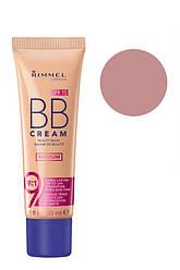 Rimmel  Тон основа  BB Cream Beauty Balm SPF15  02 Light Medium 30 мл Код 20565