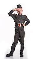 Детский костюм Военный, рост 130 -140 см