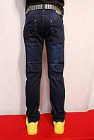 Темно-синие осенние мальчуковые джинсы. Возростная группа от 8 до 16лет (134-164см). Taurus. Венгрия.