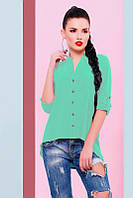 Блуза Michelle BZ-1456F - мята: 42,44,46,48