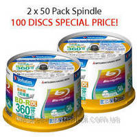 BD-R (Blu-ray) и BD-RE 25Gb и 50Gb диски для видео записи