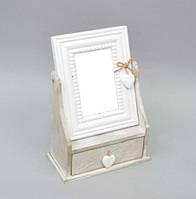Комодик с зеркалом (шкатулка для украшений)