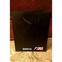 Бумажный подарочный пакет BMW M (маленький)