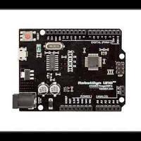 Arduino UNO R3 MEGA168 CH340G + A6-A7 micro USB, фото 1