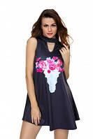 Плаття Floral Keyhole Front