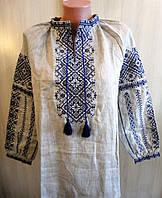 Блуза-вышиванка льняная Размер XL
