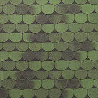 Битумная черепица ROOFCOLOR (Руфколор) Vivace Green Leaf