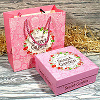 Набор для упаковки подарка (пакет и коробка) 21611-09