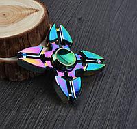 Игрушка - антистресс Hand Spinner (Спиннер) Градиент 13 металлический