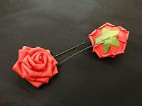 Роза на ножке красная  5 см