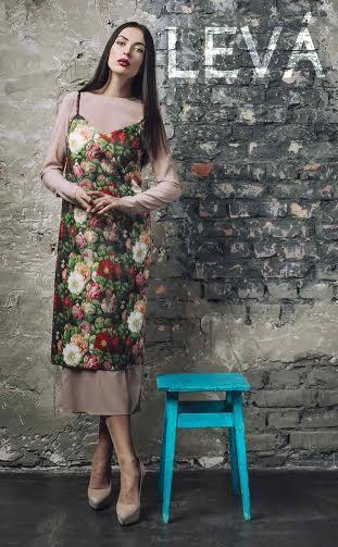 Чехол на платье из шифона