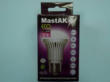 Світлодіодна лампа Mastak MUS05DE ( 6,5 W LED R50 230V 6400K E27 )