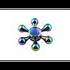 Спиннер  Fidget spinner Хамелеон цветок №2