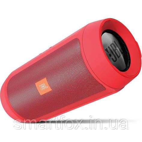 Портативная колонка JBL Charge 2 Bluetooth Красный, фото 2