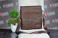 Мужская коричневая сумка Jeep., фото 1