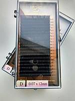 Ресницы I-Beauty, 20 линий D 0.07 (12 мм)