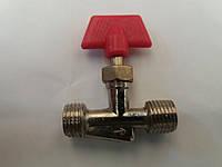 Краник  игольчатый для компрессора 1/4 дюйма
