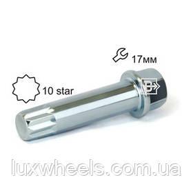 Ключ CSTL1710ST Z Внутренняя 10 лучевая звезда Цинк