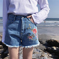 Шорты джинсовые W01