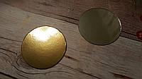 Подложка круглая метализированная, диаметр 90 мм