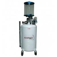 Замена смазки и жидкостей Установка для замены масла с пневмонасосом и мерной колбой G.I. KRAFT HD-853