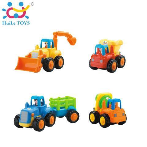 Игрушка Huile Toys Грузовичок 326 комплект из 4шт.