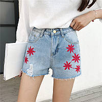 Шорты джинсовые W25