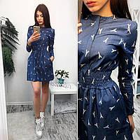 Платье женское 33600 Платья джинсовые