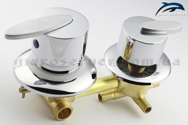 Смеситель на четыре положения S 4 ― 100 мм для душевой кабины, гидробоксов.