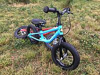 Детский беговел DYNASTAR B-2 велобег с ручным тормозом