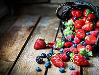 Фотофон виниловый, Корзина ягод