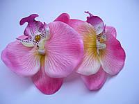"""Гребень для волос """"Орхидея розовая"""""""