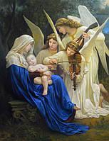 """Картина Адольфа Вильяма Бугро """"Песнь ангелов"""" (копия)"""