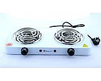 Электроплита Domotec MS 5802, плитка электрическая настольная