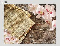 Фотофон виниловый, Орхидея