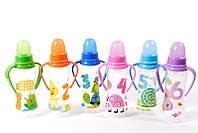 Маленькая бутылочка для новорожденных