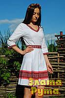 """Біла вишита сукня """"Гуцулка"""""""